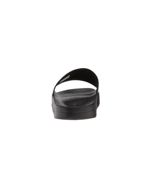 25bb621f087547 ... Adidas - Adilette Cf (black white black) Men s Slide Shoes for Men ...