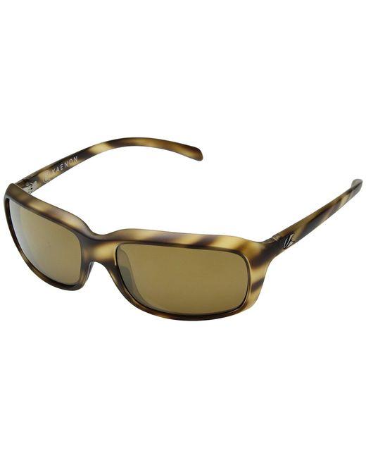 Kaenon - Monterey (tortoise Brown 12-polarized) Athletic Performance Sport Sunglasses for Men - Lyst