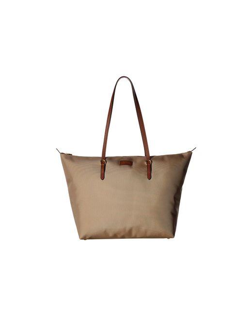 Lauren by Ralph Lauren - Brown Chadwick Tote Medium (black) Tote Handbags - Lyst