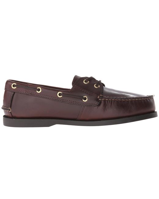 de2ea3e8a23db ... Dockers - Multicolor Vargas Boat Shoe (dark Tan Oiled Tumbled Full  Grain) Men s Lace ...