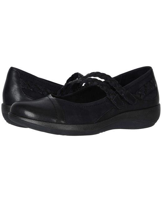 Aetrex Black Annie Shoes