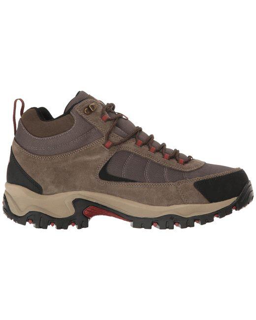 e0dd81197c6c ... Columbia - Brown Granite Ridge Mid Waterproof (dark Grey golden Yellow)  Men s Shoes ...