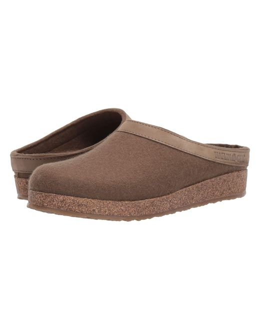 Haflinger Brown Gzl Leather Trim Grizzly