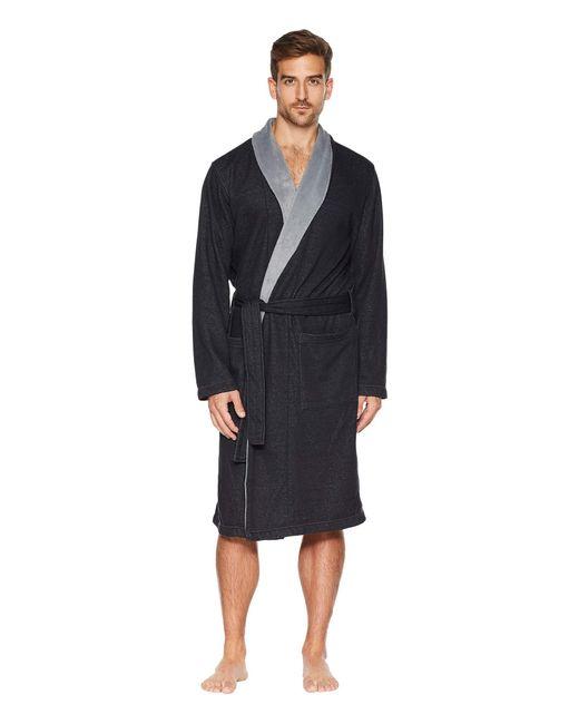 Ugg Black Robinson Robe for men