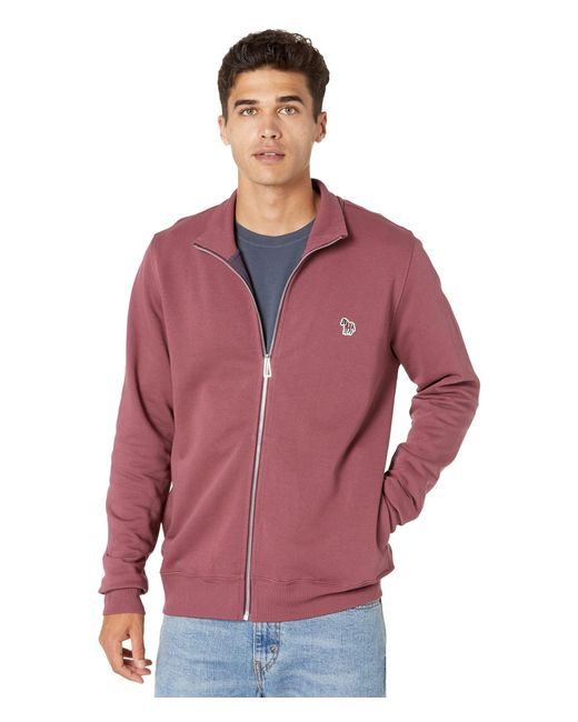 Paul Smith Purple Regular Fit Zip Top for men
