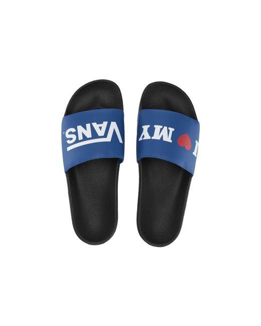 220e5963574655 Vans - Blue Slide-on (() Potters Clay) Slide Shoes - Lyst ...