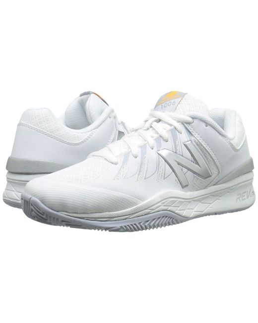 New Balance - White Wc1006v1 (black/pink) Women's Tennis Shoes - Lyst