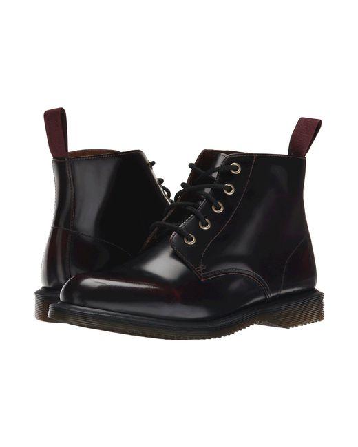 Dr. Martens - Black Emmeline Leather Ankle Boots - Lyst