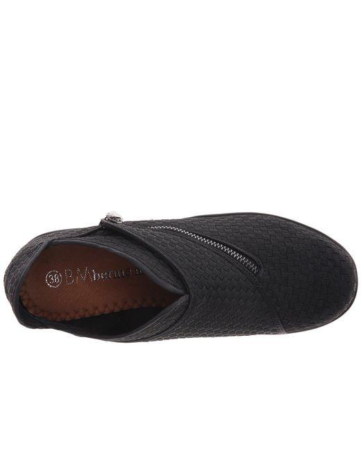 b6c5a4ea7d76 Lyst - Bernie Mev Zigzag (black) Women s Wedge Shoes in Black