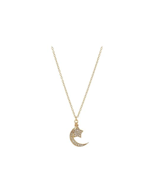 Shashi - Metallic Moon Star Pendant Necklace (gold/vermeil) Necklace - Lyst