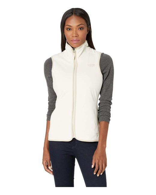 3e688d637d5a The North Face - White Mosswood Vest (rumba Red) Women s Vest - Lyst ...