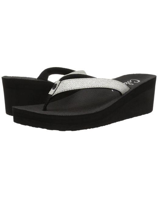 dcfa0f463 Cobian - White Grace (black) Women s Sandals - Lyst ...