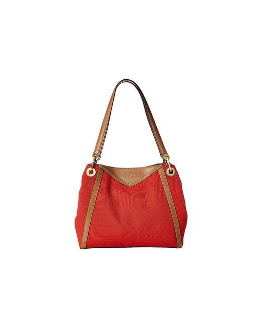 d799267c83e2c5 MICHAEL Michael Kors - Red Raven Large Pocket Shoulder Tote (light  Terractta) Tote Handbags ...