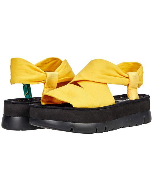 Camper Yellow Oruga Up K201238 Shoes