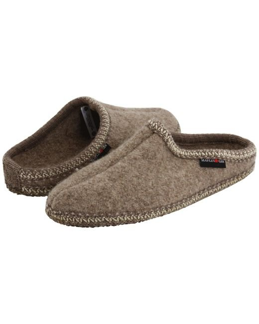 Haflinger Natural As Classic Slipper