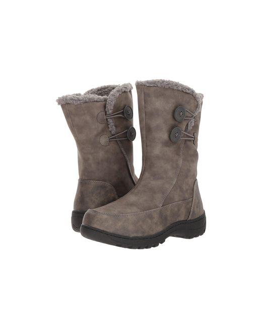 Tundra Boots - Gray Marilyn (grey) Women's Boots - Lyst
