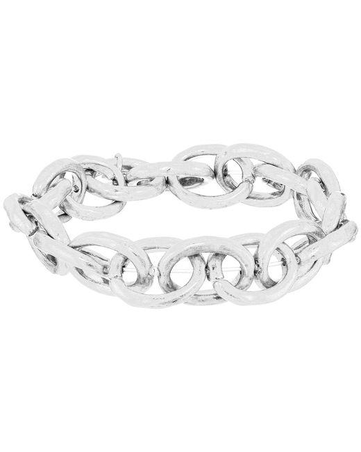 The Sak | Metallic Link Stretch Bracelet | Lyst