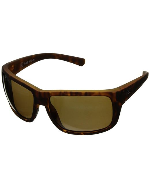 Kaenon - Brown Redwood (black Matte Grip Ultra Grey 12-polarized) Athletic Performance Sport Sunglasses for Men - Lyst