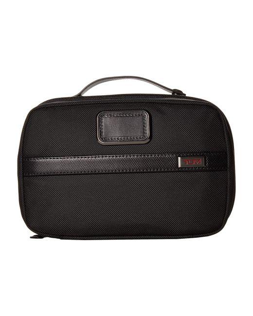 Tumi Black Alpha 3 Split Travel Kit Luggage