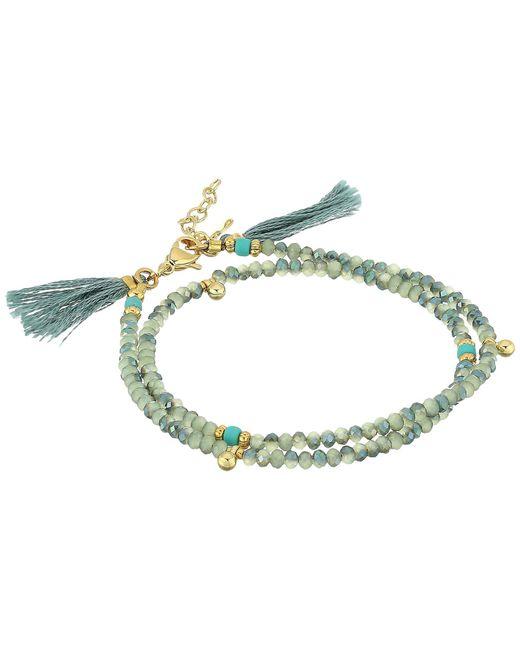 Shashi | Multicolor Eliza Wrap Bracelet | Lyst