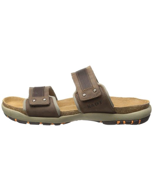 ce4f1be2e9a8 Lyst - Naot Climb (bison Leather) Men s Sandals in Brown for Men