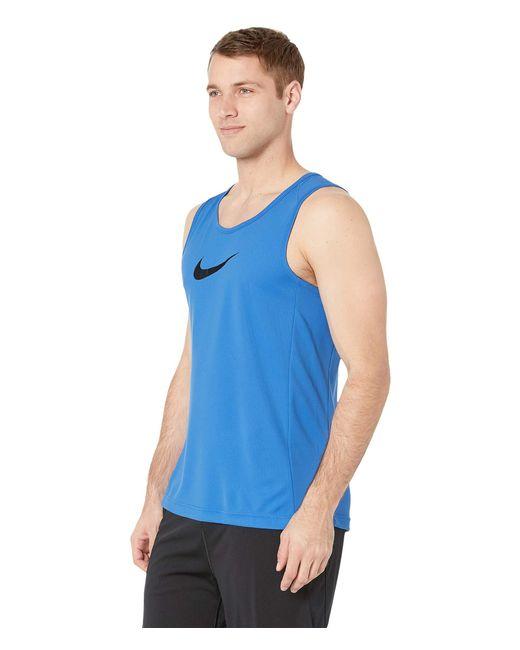 0ec80e4538ecf Lyst - Nike Dry Top Sleeveless Crossover Bb (black white) Men s ...