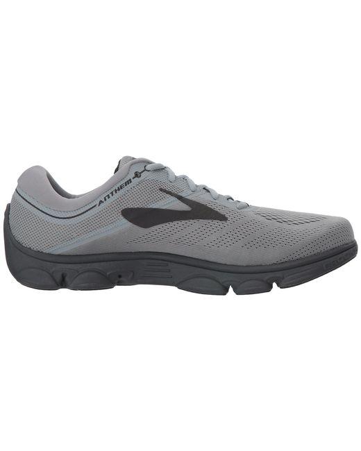 01a692fbe89a0 ... Brooks - Gray Anthem (ebony black grey) Men s Running Shoes for Men ...