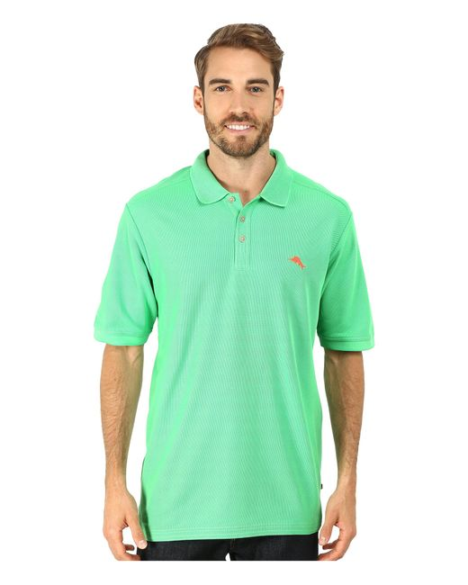 Tommy Bahama | Green The Emfielder Polo Shirt for Men | Lyst