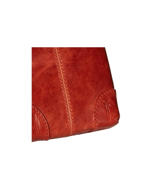 Frye Melissa Lanyard Phone Wallet Crossbody Bag