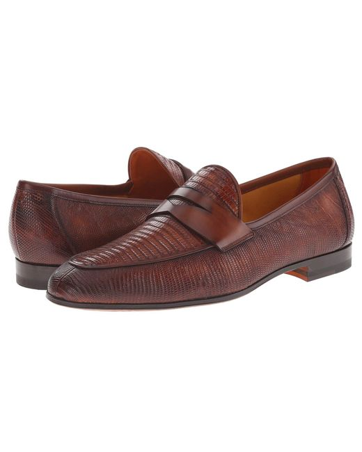 Magnanni Shoes - Brown Camerino for Men - Lyst