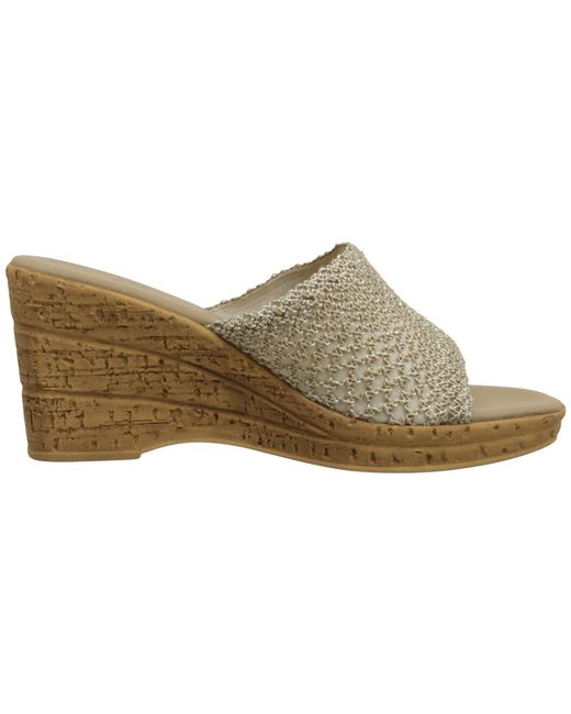 e258bc23c303 Lyst - Onex Bianca-2 (natural) Women s Wedge Shoes in Natural