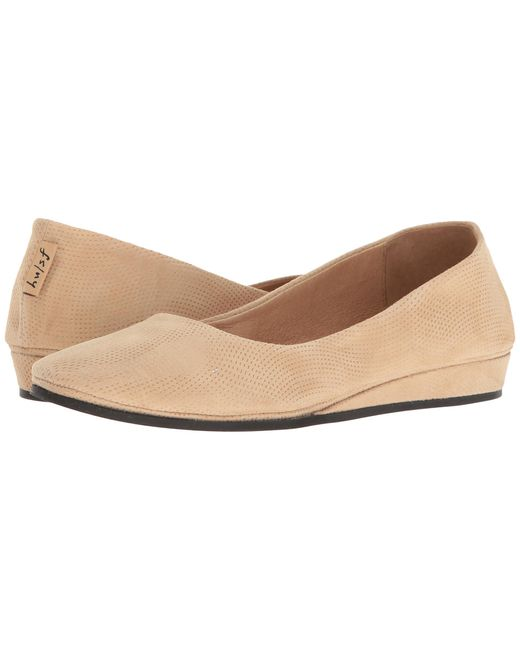 French Sole   Natural Zeppa   Lyst