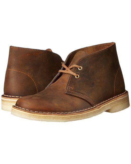 Clarks   Natural Desert Boot   Lyst