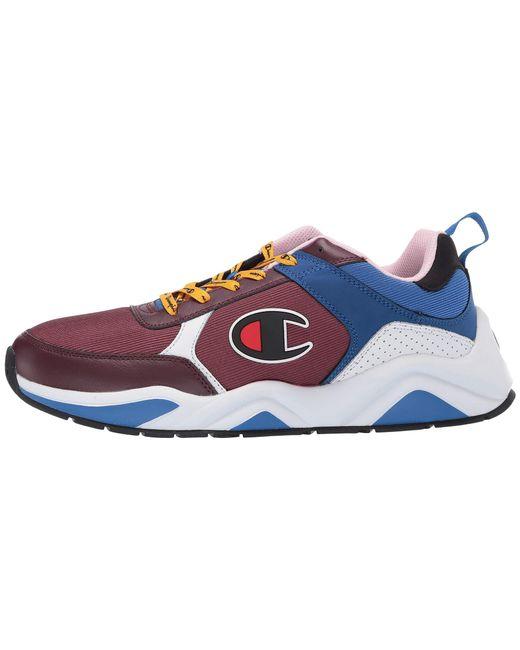 7289fe96d12 Lyst - Champion 93 Eighteen (silver) Men s Shoes in Blue for Men ...