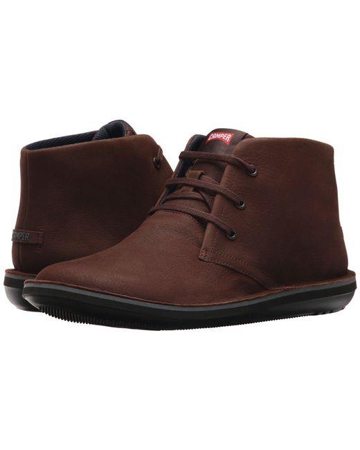Camper - Brown Beetle Hi-36530 (dark Gray 3) Men's Lace-up Boots for Men - Lyst