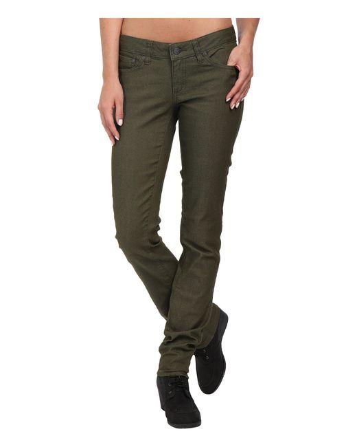 Prana - Green Kara Jean (crushed Cran) Women's Jeans - Lyst