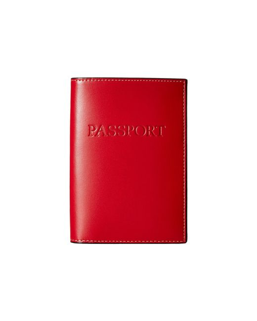 Lodis | Red Audrey Passport Cover | Lyst