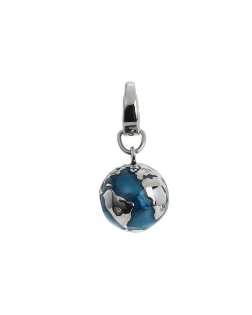 Fossil | Blue Globe Charm | Lyst