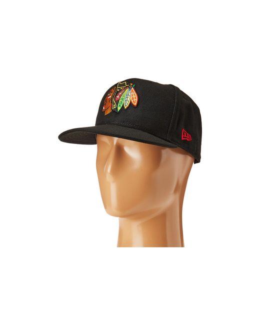 KTZ | 59fifty® Chicago Blackhawks for Men | Lyst
