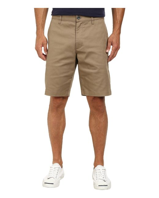 RVCA | Natural The Week-end Stretch Shorts for Men | Lyst