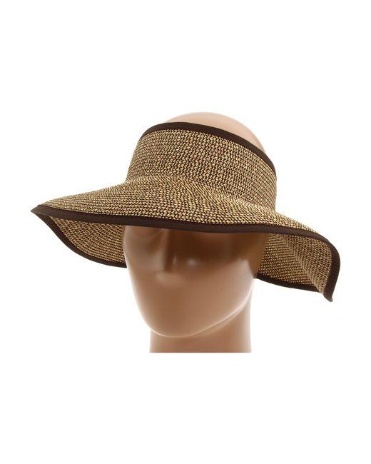 San Diego Hat Company | Brown Ubv002 Sun Hat Visor | Lyst