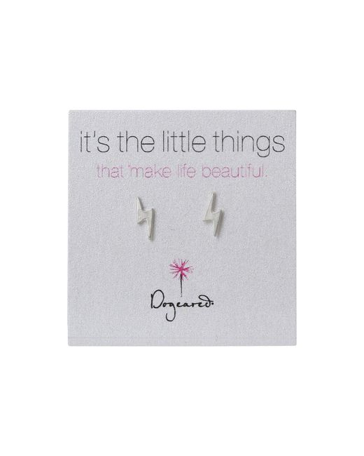 Dogeared | Metallic It's The Little Things Bolt Studs | Lyst