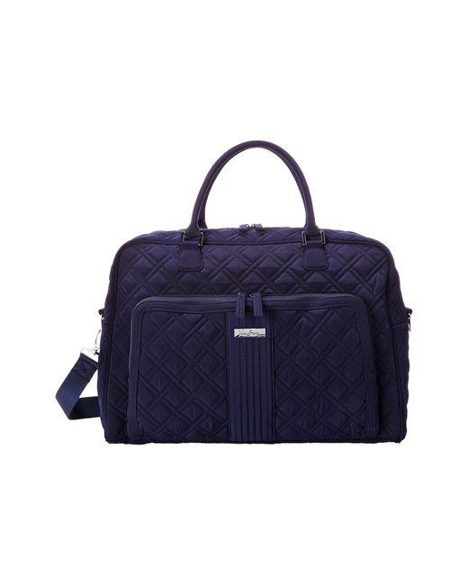 Vera Bradley Luggage | Blue Weekender | Lyst
