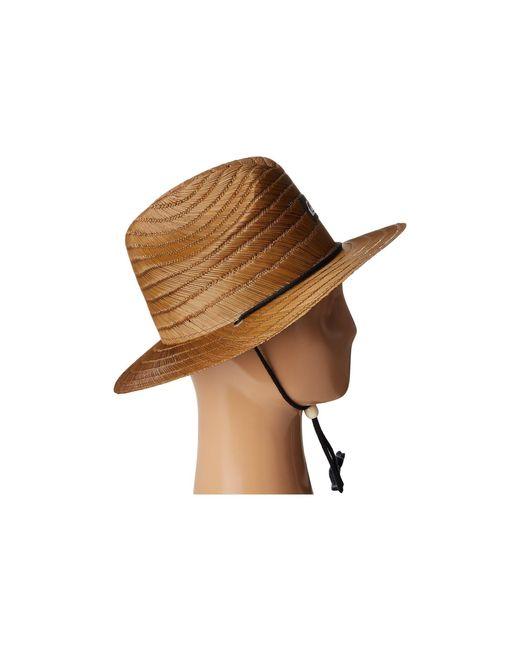 504f2249695fd5 best price sum18 quiksilver pierside hat 7c66b 98f65; germany discount code  for quiksilver pierside slim dark brown caps for men lyst 1064b ad565 8bc43