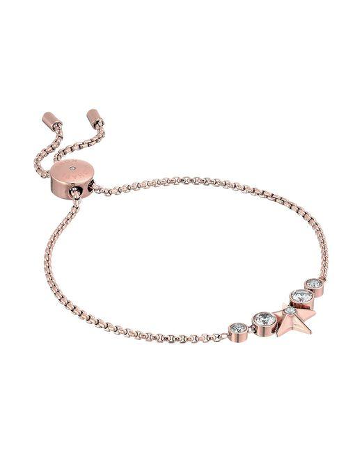 Michael Kors - Metallic Brilliance Slider Bracelet W/ Centered Star - Lyst