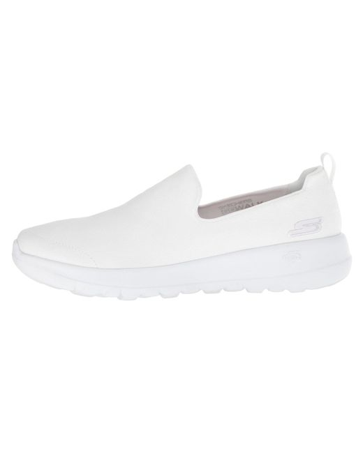 ad0fa43ea6f9 Lyst - Skechers Go Walk Joy - Gratify (white) Women s Slip On Shoes ...