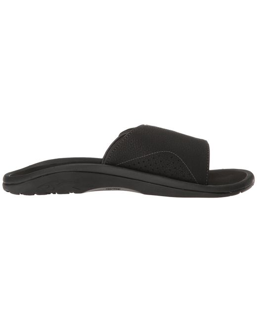 53ed6e042371 Lyst - Olukai Men s Nalu Grip-strap Slide Sandals in Black for Men ...