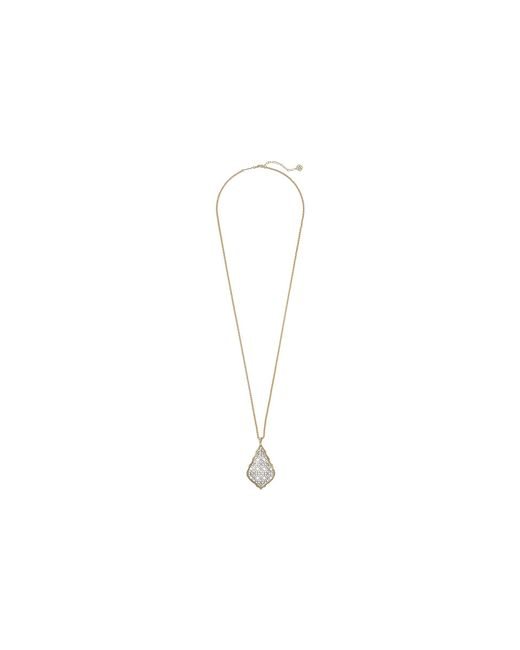 Kendra Scott - Metallic Aiden Necklace - Lyst