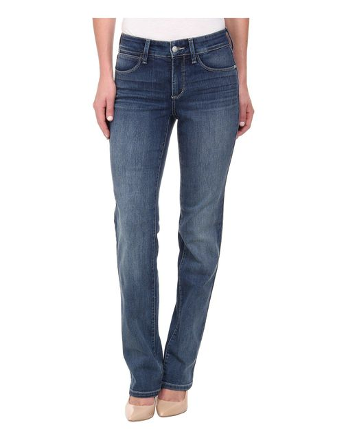 NYDJ - Blue Marilyn Straight In Heyburn (heyburn) Women's Jeans - Lyst