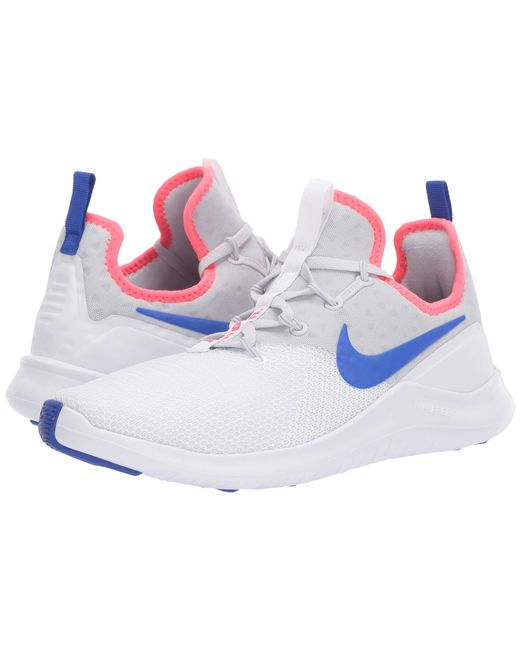 b0a7e28d8e9d6 Lyst - Nike Free Tr 8 (black white) Women s Cross Training Shoes in ...